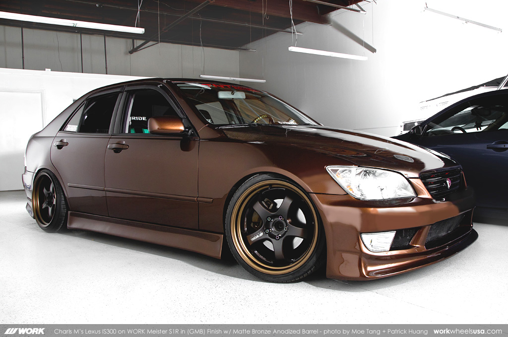 Charls Ms Lexus IS300 On WORK Meister S1R GMB Charls