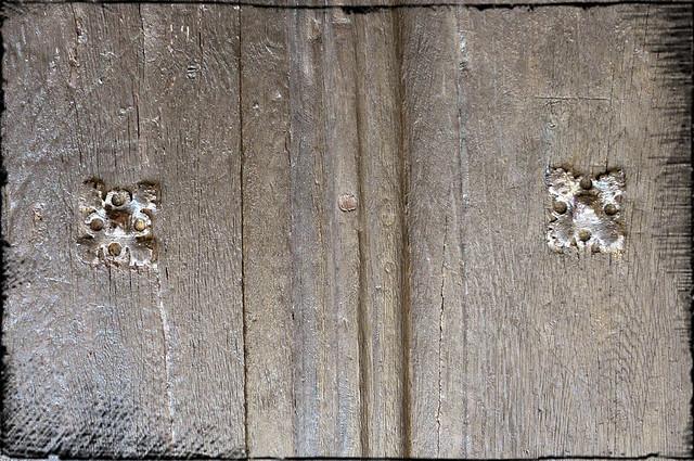 Zoom sur vieille porte en bois flickr photo sharing - Vieille porte en bois ...