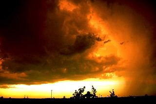 071306 - Strong Thunderstorm - Cool Cloud Formations | by NebraskaSC Photography