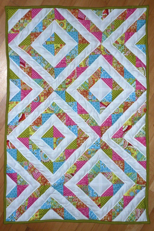 Quilt Designs With Triangles : Half Square Triangles Quilt HST quilt using a California D? Flickr