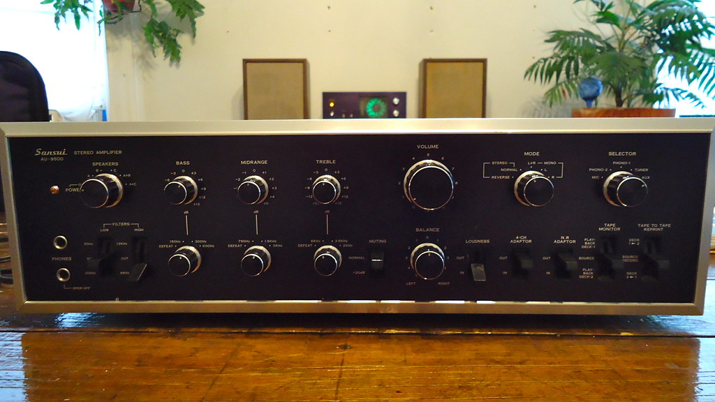 Sansui Au 9500 Amp The Songlines Flickr