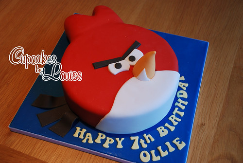 Angry Birds cake | by bakerlou1