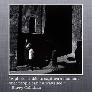 #QuotePhoto of the day #HarryCallahan | by AMRosario