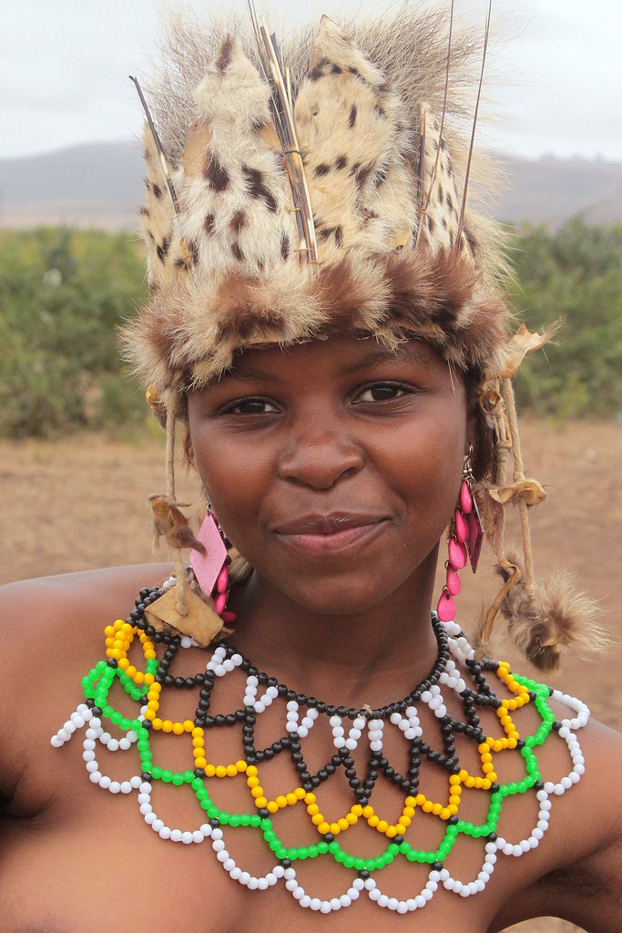 South Africa - Zulu Reed Dance Ceremony  Zulu Reed Dance Ce  Flickr-3832