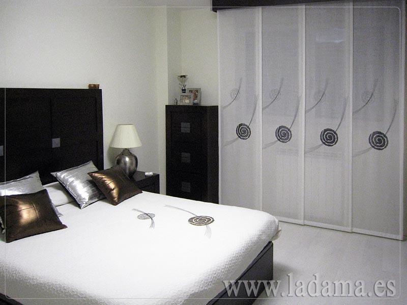 Decoraci n para dormitorios modernos cortinas en barra e flickr - Edredones nordicos modernos ...