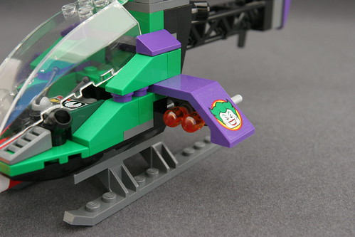 6863 Batwing Battle Over Gotham City - Joker's Helicopter 5 | by fbtb