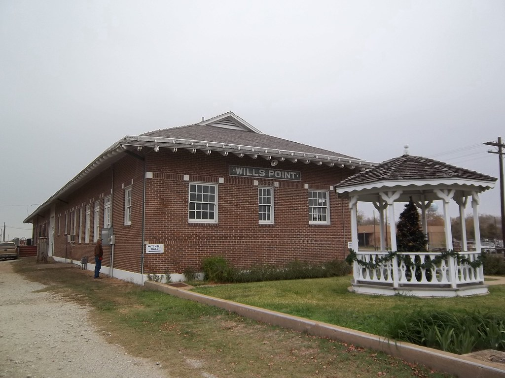 Train Depot Wills Point Texas Wills Point Is A Very
