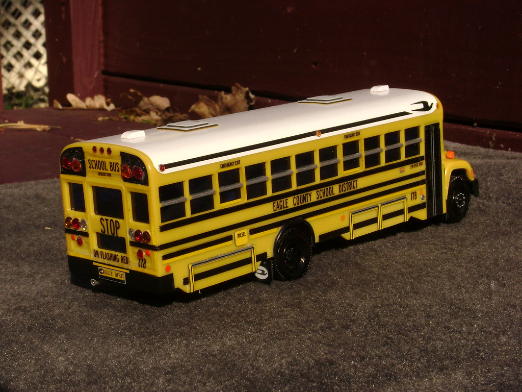 Blue Bird Bus >> COLORADO BLUE BIRD BUS - EAGLE COUNTY SCHOOL DISTRICT | Flickr