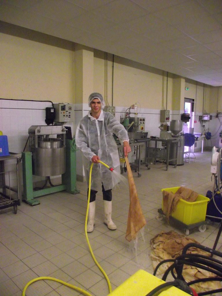 Fabrication d 39 un jus de pomme artisanal nettoyages des for Fabrication d un four a pain artisanal