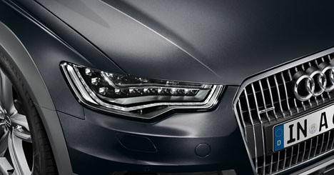 Audi A6 Allroad Oolong Grey Metallic Paintwork Oolong