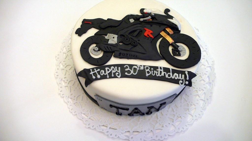 Cake Art Motorcycle Cake Pan : Suzuki GSX 600 Motorcycle cake www.cakeamsterdam.com ...
