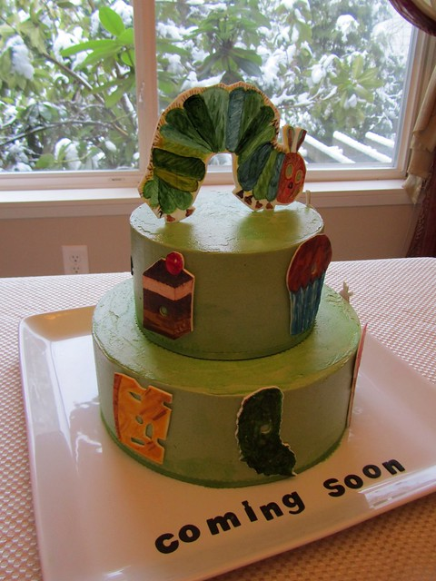 Eric Carle Cake Decorations