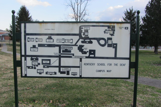Campus map of Kentucky School for the Deaf | Flickr ...