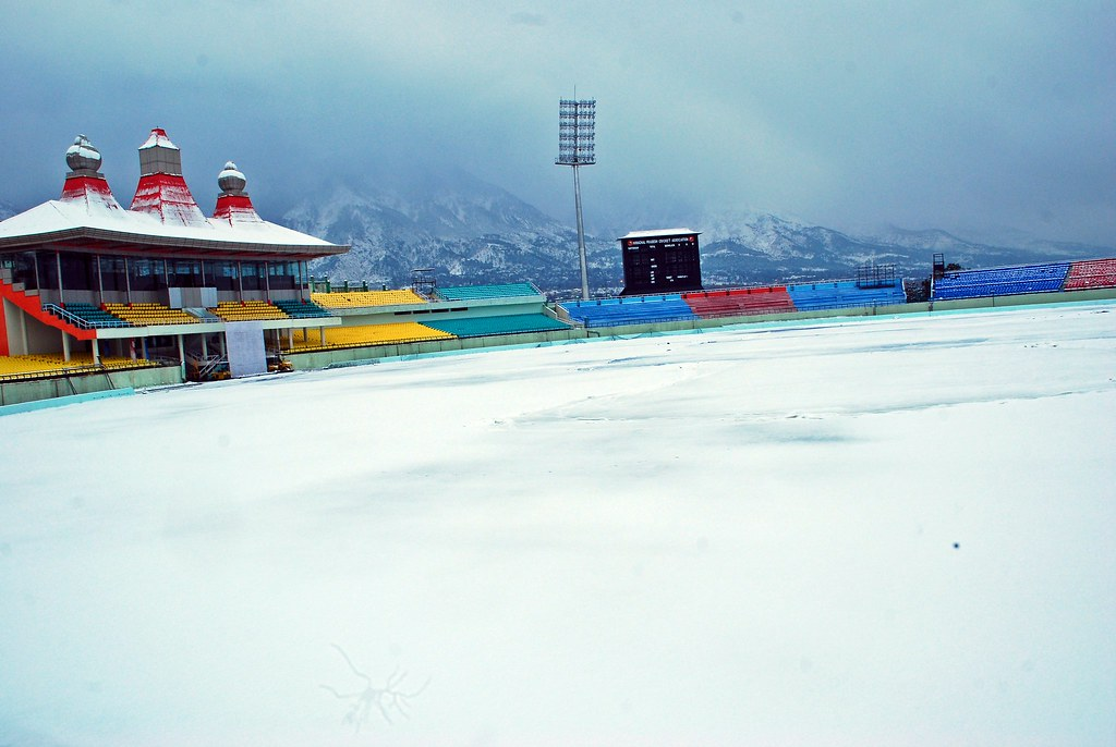 Dharamshala India  city photos gallery : dharamshala cricket stadium,hp, india | Dharamshala cricket ...