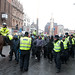 The EDL Marching in Leicester City Center