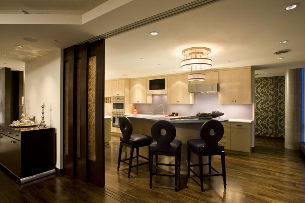 Kitchen Island Seating Area With Sliding Doors Mr Erotas Flickr