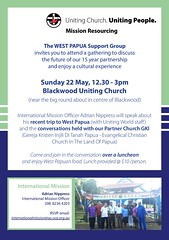 Luncheon with West Papua Support Group - Mission Resourcing