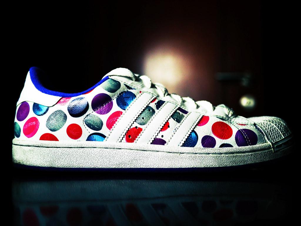 Adidas Polka Dot Shoes