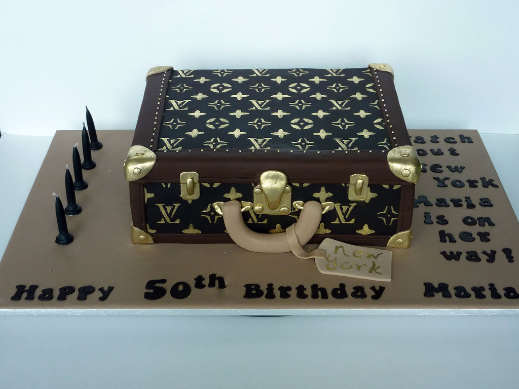Suitcase Cake Images