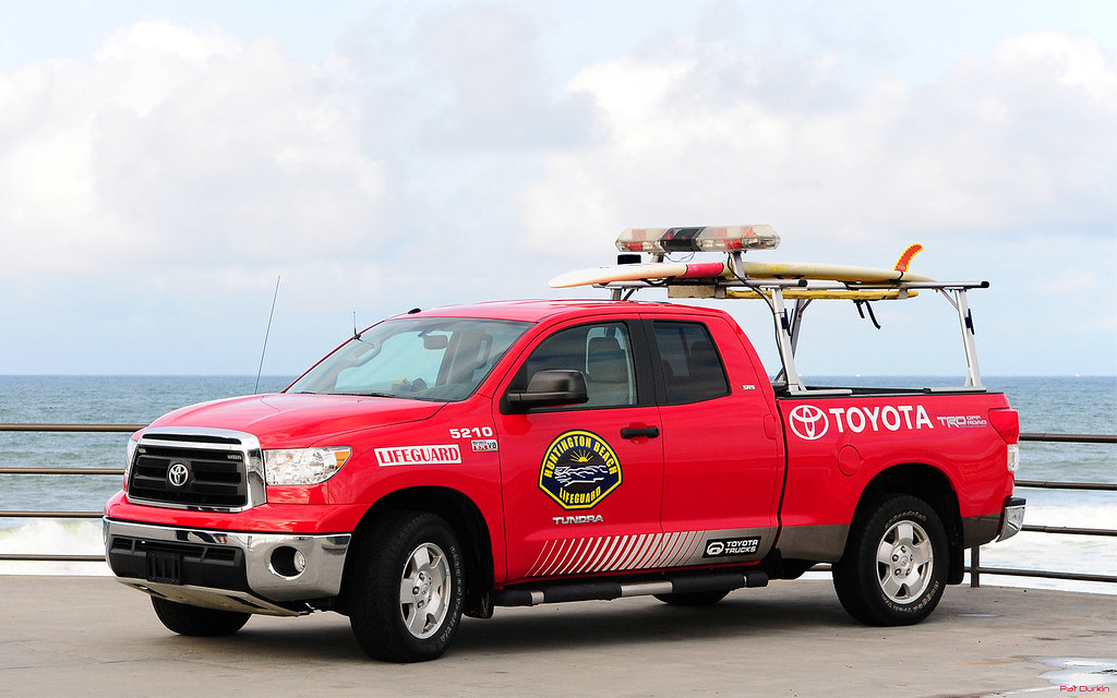Toyota Tundra 4x4 Pickup Huntington Beach Lifeguards
