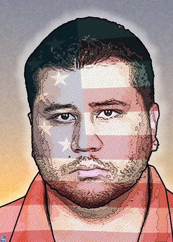 George Zimmerman | by DonkeyHotey