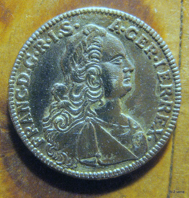 pi ce de monnaie ancienne 1752 explore verre antique glas flickr photo sharing. Black Bedroom Furniture Sets. Home Design Ideas