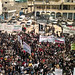 Protesting against Assad crimes in Binnish, Idlib