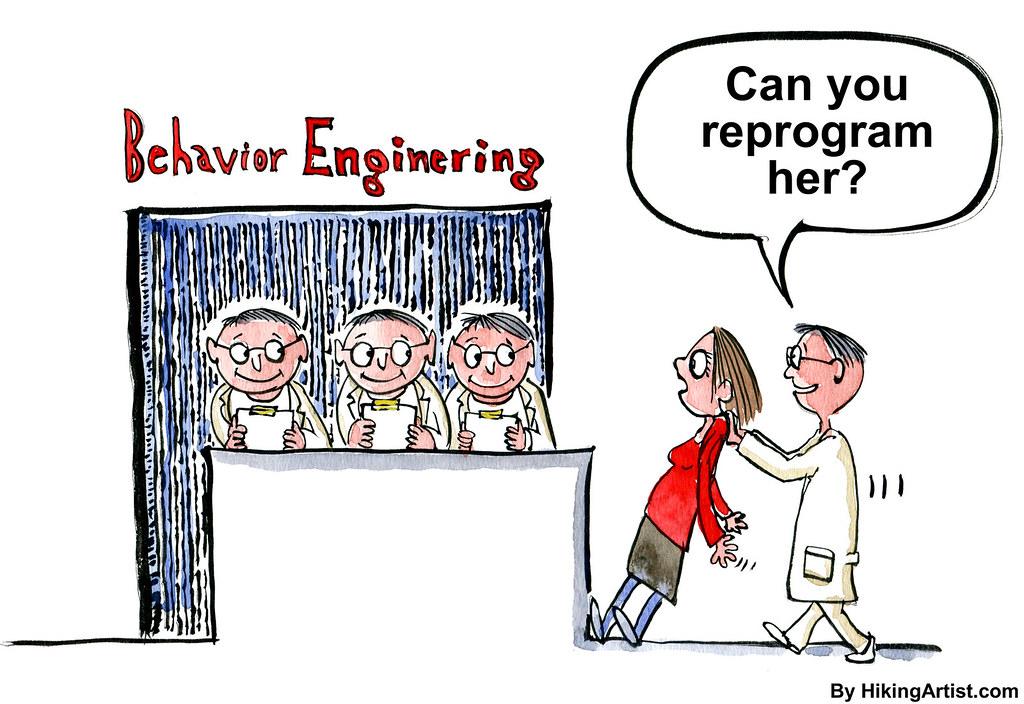 Behavior Engineering and programming psychology | Drawing ab… | Flickr
