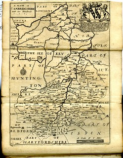 Maps of England circa 1670, CambridgeShire 6 of 40