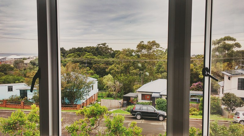 view from bulli window