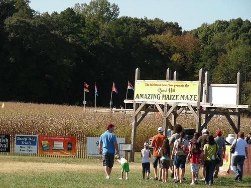 The Amazing Maize Maze 10/10/10
