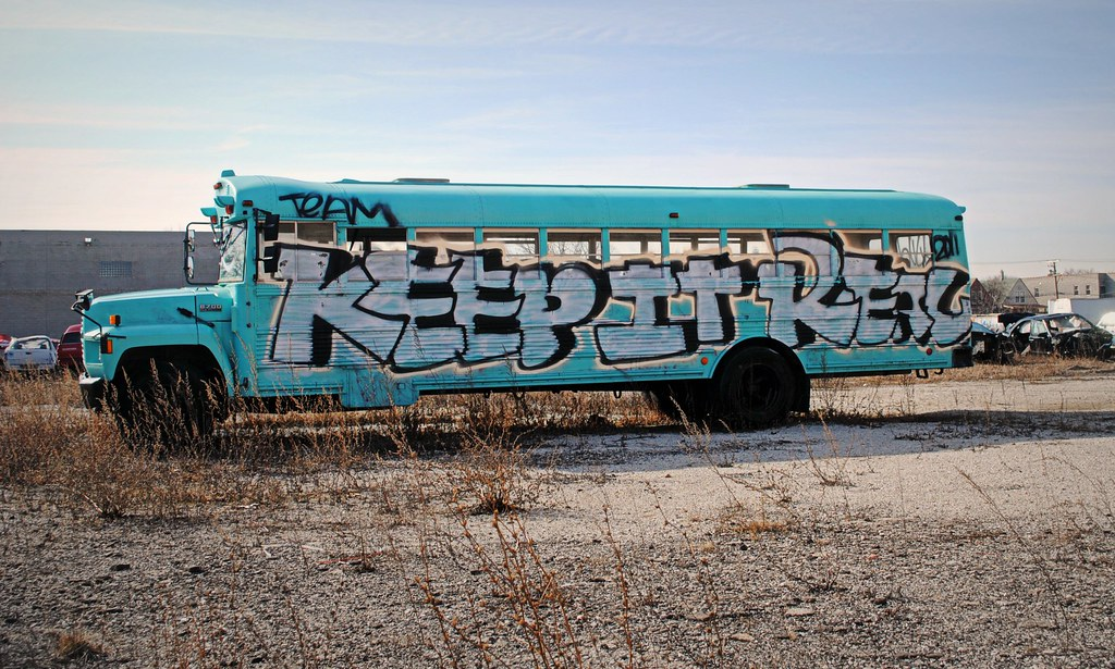 Be Real Paint Your School Bus Chicago Junkyard