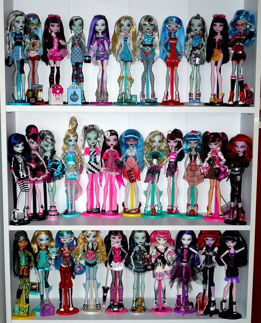 my monster high doll collection flickr photo sharing