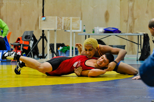 Wrestling- Day 1- Alaska vs. NT | by Arctic Winter Games 2012