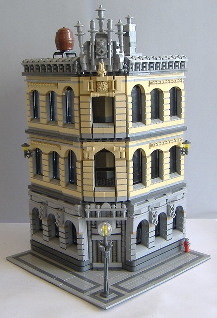 free lego modular moc instructions