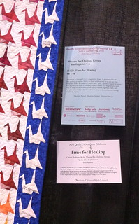 Time for Healing~ Detail~Wanna Bee Quilting Group | by Pam from Calif