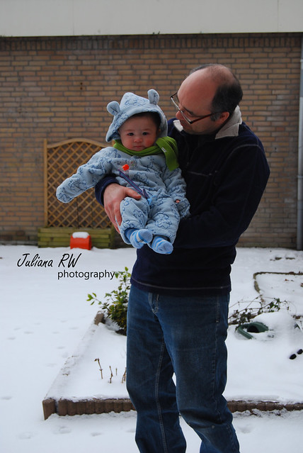 Matthew's first snow