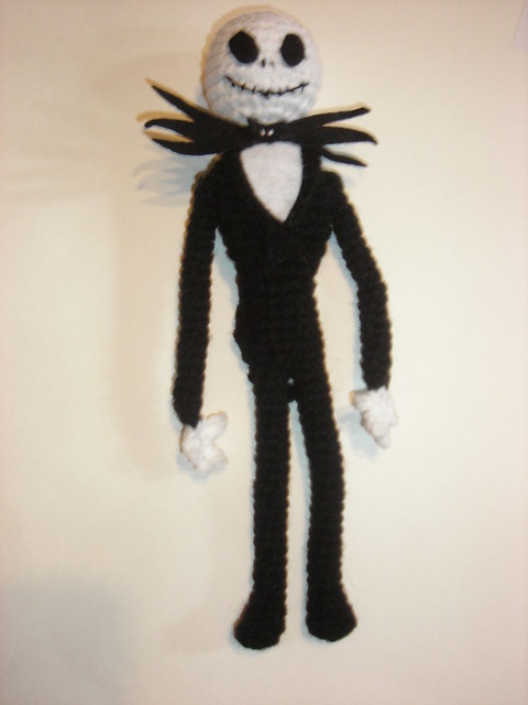 Amigurumi Jack Skellington Pattern : Flickr - Photo Sharing!