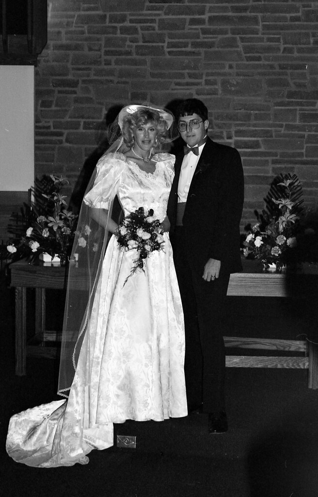 S And W >> 1987-negatives-Dan_Susan_wedding-sheet30-frame11 | Susan ...