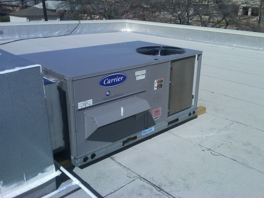 #3F4A60 Carrier HVAC Unit Carrier Rooftop Package Unit Jaric Air  Brand New 1631 Carrier Heating And Cooling Units images with 1024x768 px on helpvideos.info - Air Conditioners, Air Coolers and more