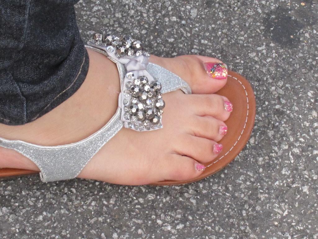 Petite latina feet