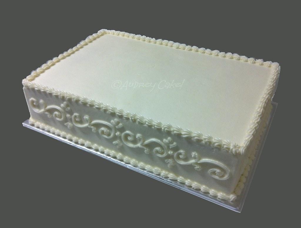 Layered Sheet Cake