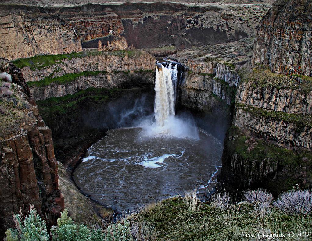 Palouse Falls Location Wastucna Palouse Falls State