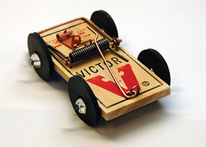 How To Build A Mousetrap Car With  Mouse Traps