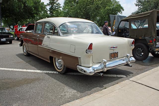1955 chevrolet bel air 4 door sedan 2 of 2 flickr for 1955 chevy belair 4 door value