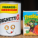 Toy Spaghettios Can & Freakies Cereal Box