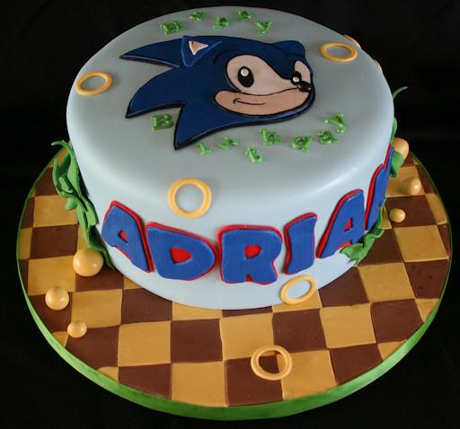Sonic Cake Pan
