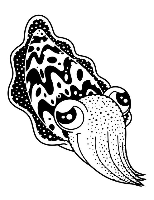 Cuttlefish Outline