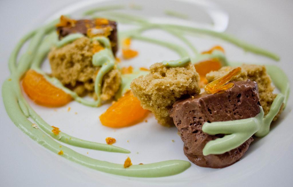 Chocolate Pistachio Mousse Cake Recipe