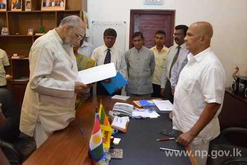 Chief Minister swearing in with new portfolio